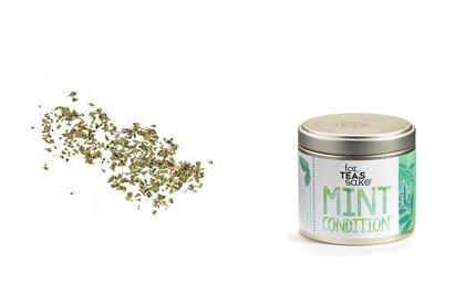 For Tea's Sake, Peppermint Herbal Tea (0.7oz/20g)