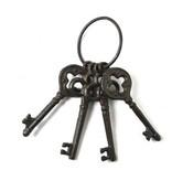 Cast iron brown keys