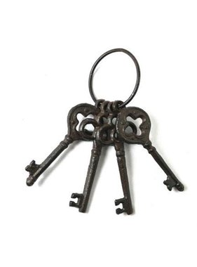 Cast iron brown keys