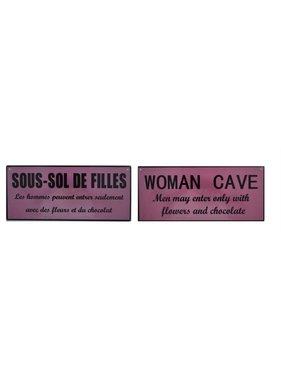 Affiche sous-sol de filles