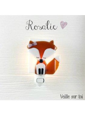 Veille sur toi Fox Rosalie Night light