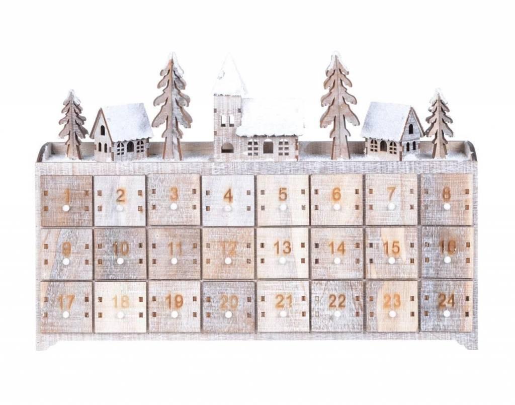 Advent calendar chest