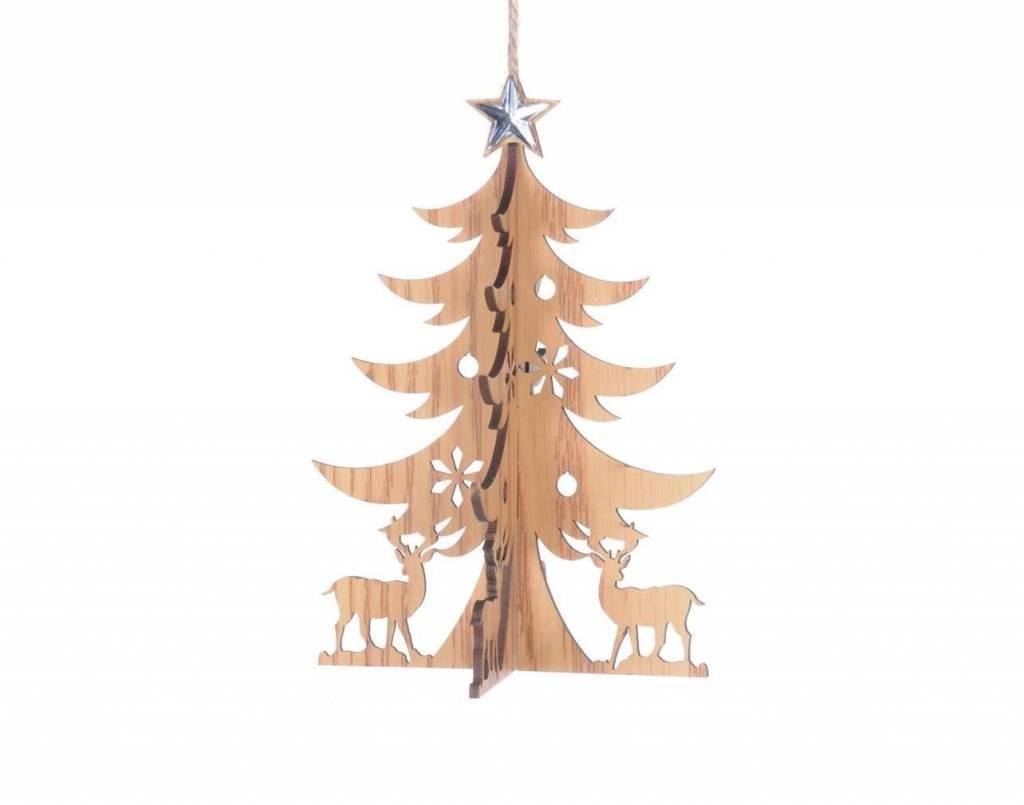 Ornement arbre et cerf