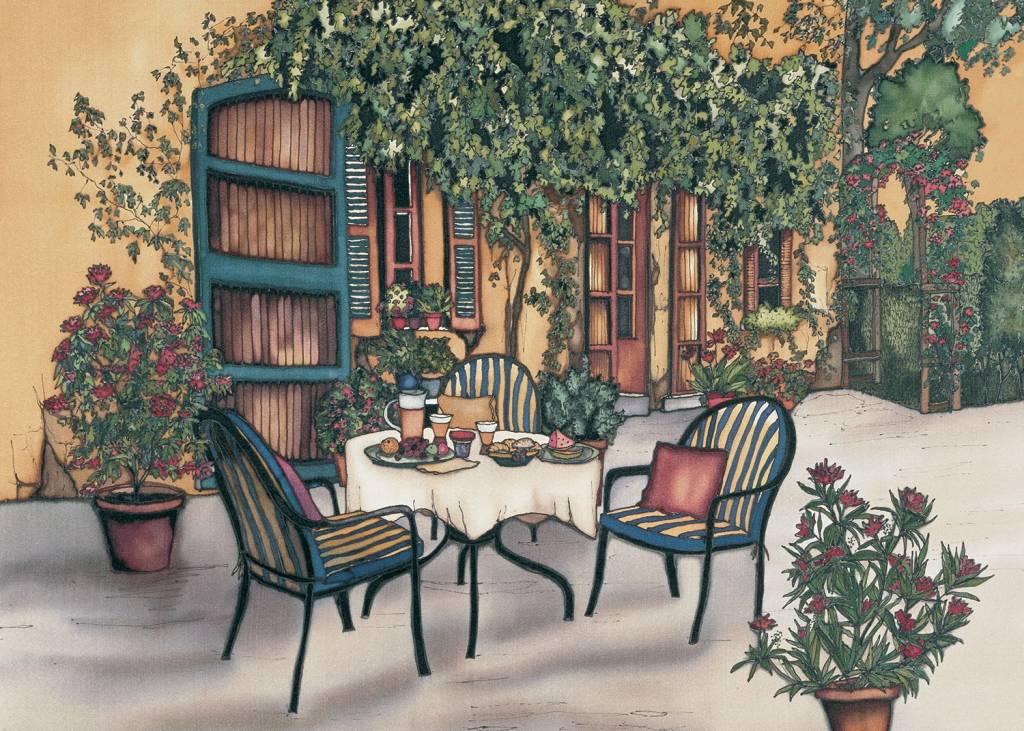 Renee Bovet Aimant Déjeuner au soleil P96
