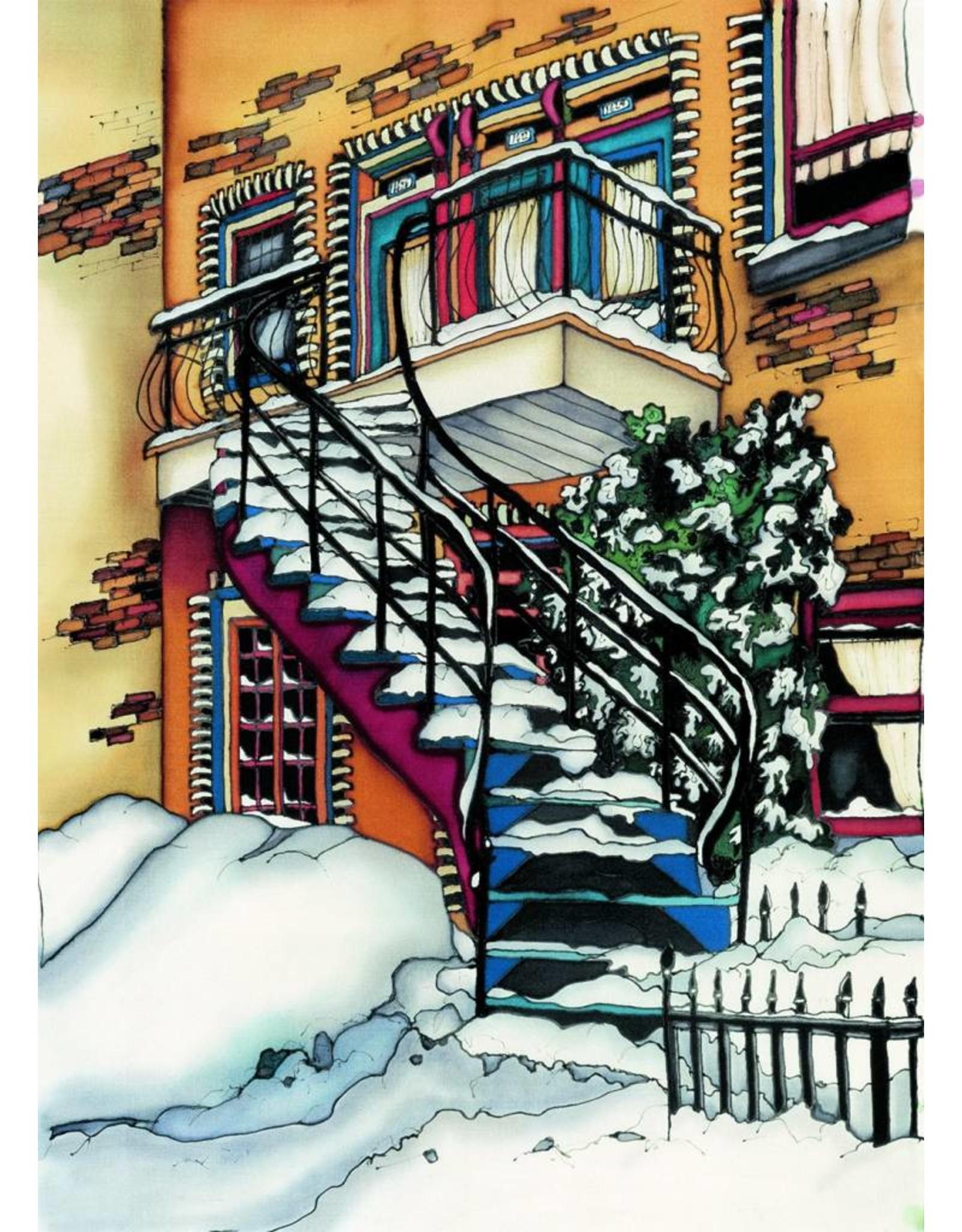 Renee Bovet Aimant Sous la neige P118