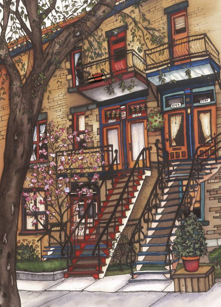 Renee Bovet Reproduction -  Marianne street, MTL 20x14