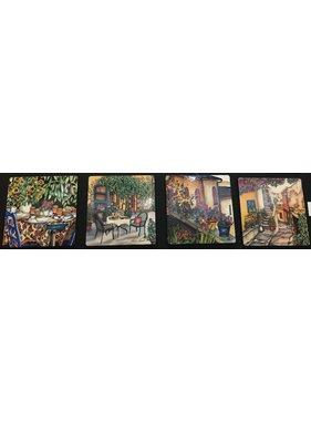 Renee Bovet Coasters - Vence