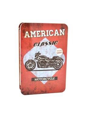 Metal vintage Bike notebook