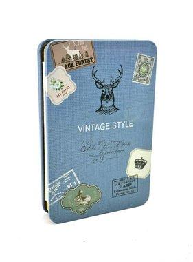 Metal deer notebook