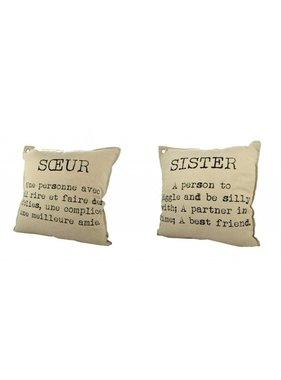 Sister Cushion 692-008