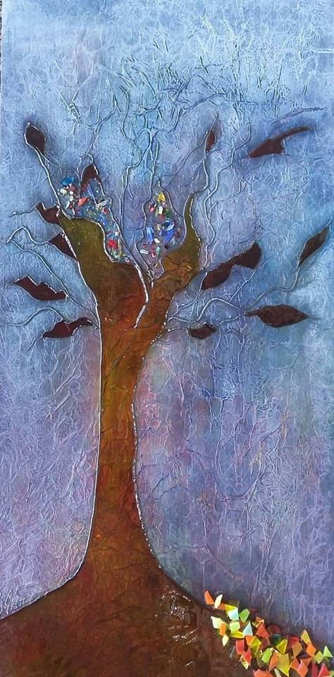 Martine Simard Between tree
