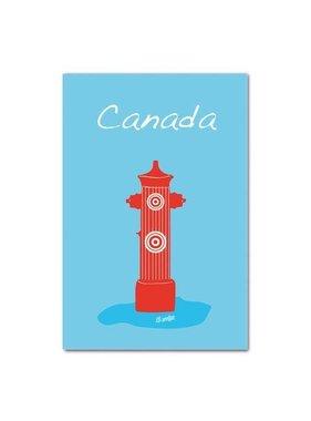 Fire Hydrant Postalcard of Canada