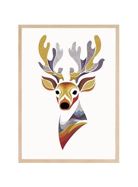 Charlie le cerf 12 x 18