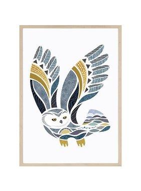 Hugo the Owl 12 x 18