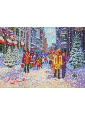 """Line Brunelle One day in December 5"""" x 7"""""""