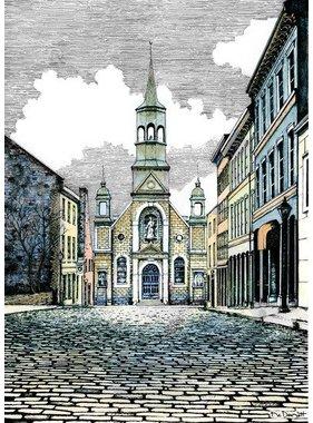 Église Bonsecours L10MC 8 1/2 x 11