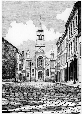 Église Bonsecours L10M 8 1/2 x 11