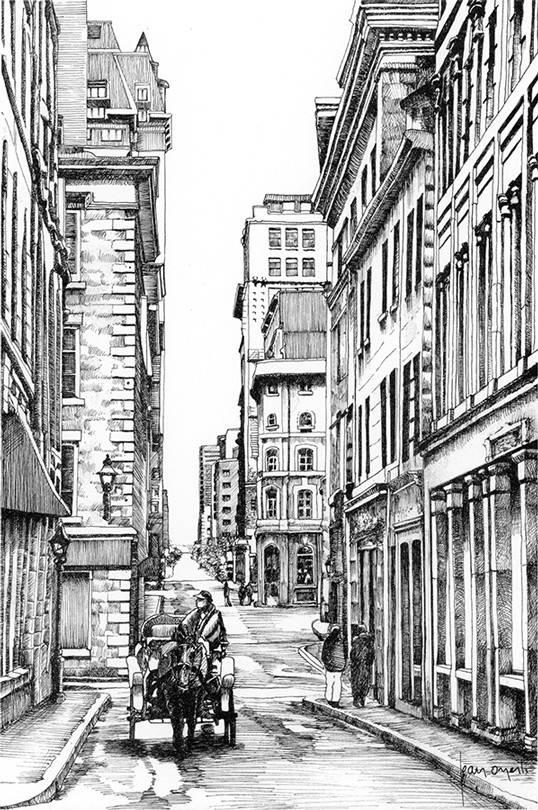 Bleury and  St Pierre Street L6P 9 x 7