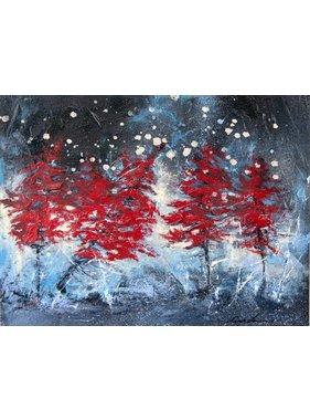 """Carole Laurence Fairytale Landscape 12""""x16"""""""
