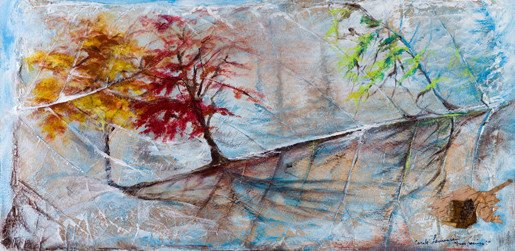 "Carole Laurence Symphony of the Seasons 12""x24"""