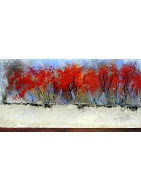 "Carole Laurence Red Passion 12""x24"""