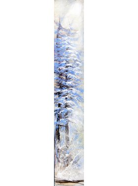 "Carole Laurence Tree in winter 6 ""x36"""
