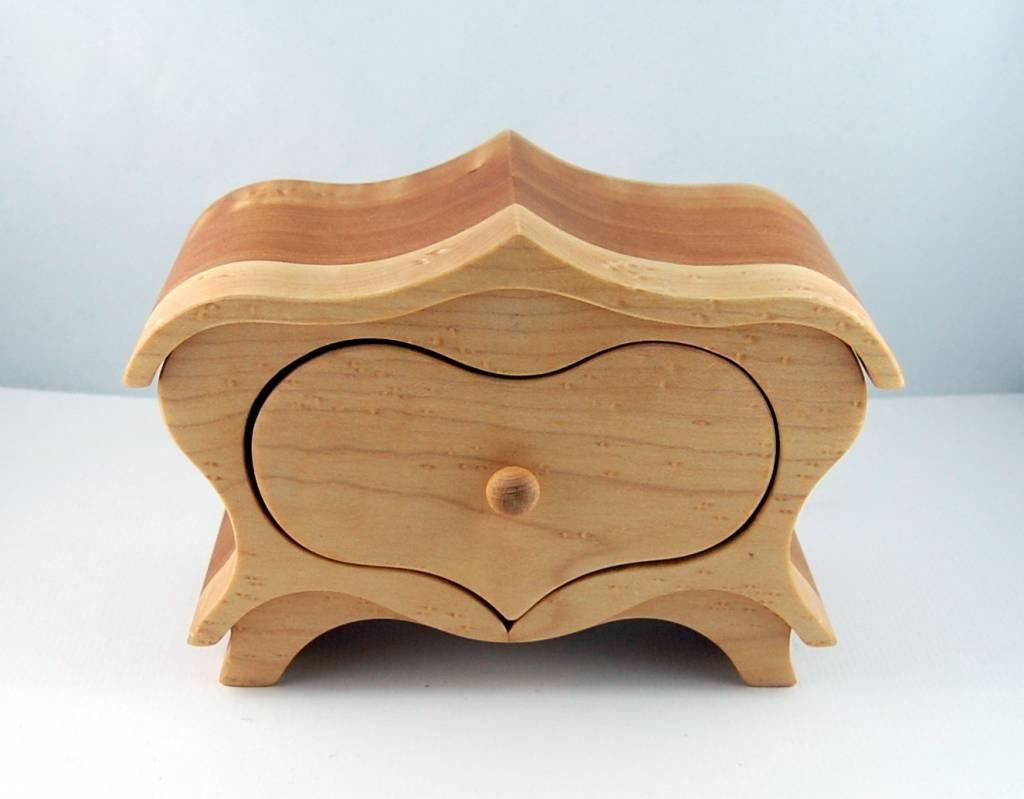Jewelery box Heart  - Tall