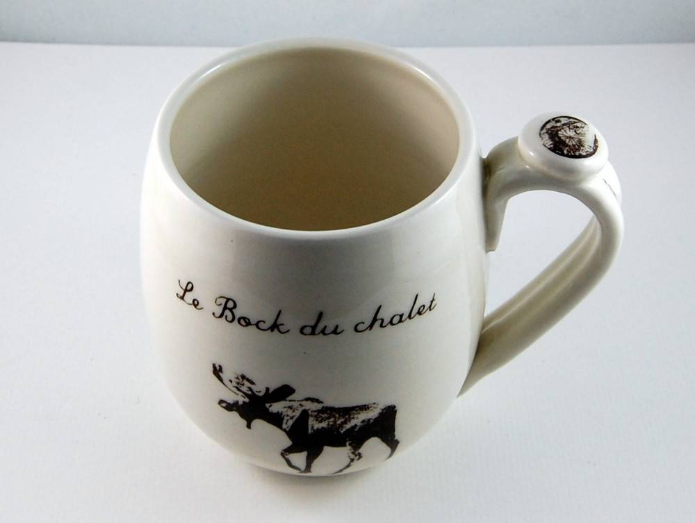 The « bock du chalet » Beer mug