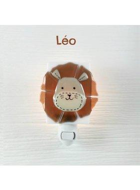 Veille sur toi Léo Lion Night light