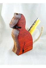 Alain Mailhot - Sculpteur Cat  - Crayons holder
