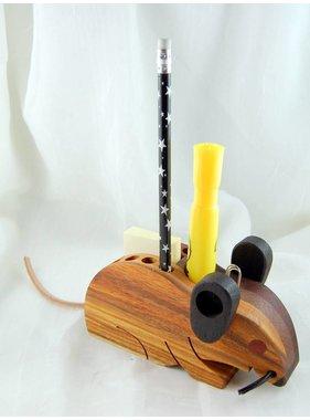 Alain Mailhot - Sculpteur Mouse  - Crayons holder