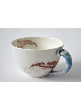 Catherine De Abreu 1 Tasse café au lait Méduse 02-M
