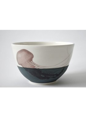 Catherine De Abreu 1 Small Bowl Jellyfish 08-M