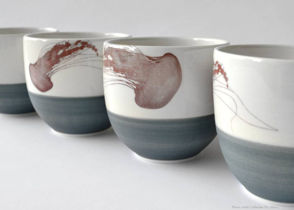 Catherine De Abreu Tea Bowl Jellyfish