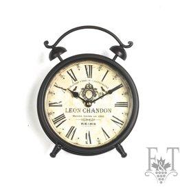 "Table Clock ""Leon Chandon"""