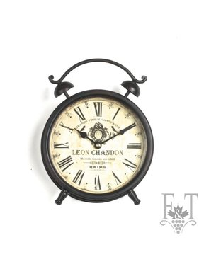 "Table Clock ""Leon Chandon"""