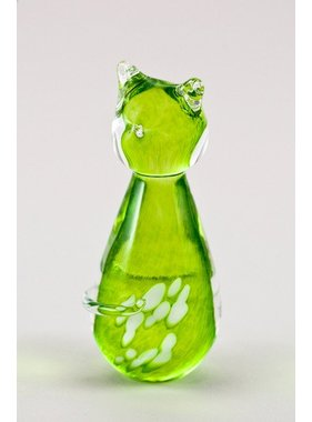 Cat lime green