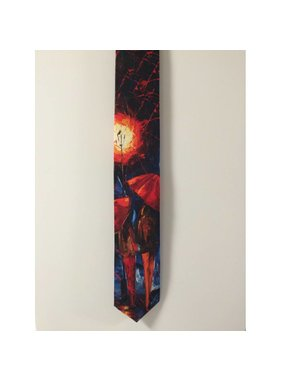 Silk tie - Couple
