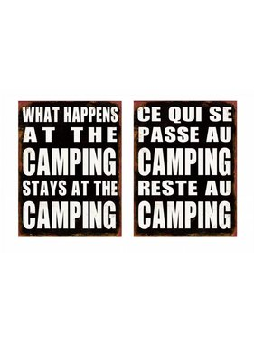 Camping Sign