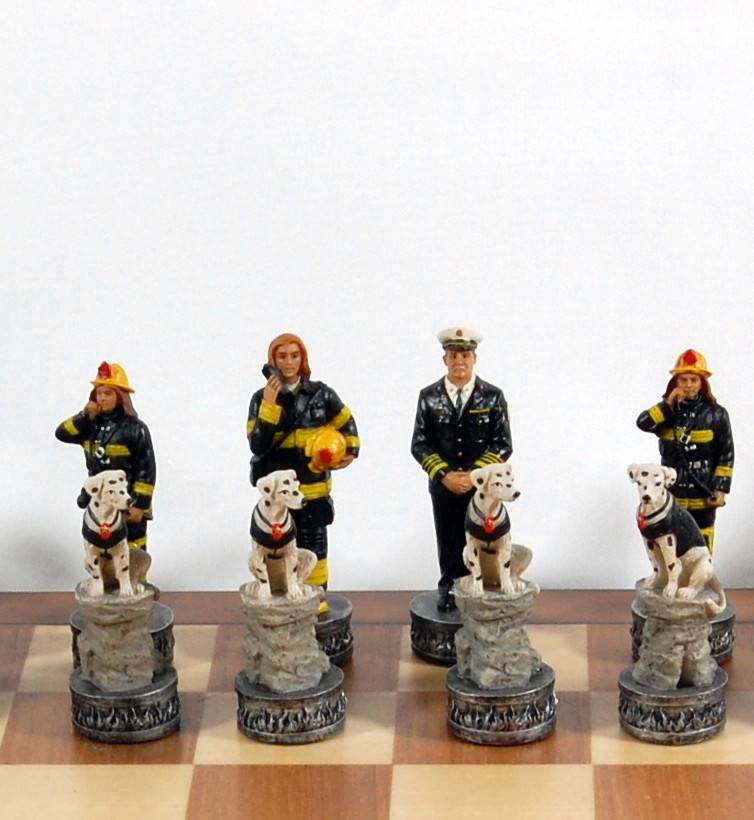 Jeux d'échec pompiers 96002