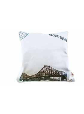 Cartier Pillow of Old Montreal