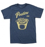 T-shirt Poutine - Blue