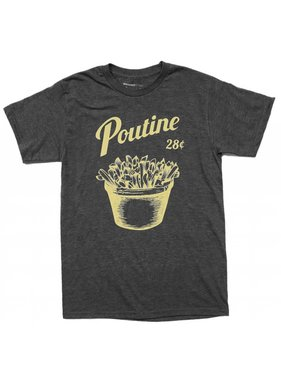 1 T-shirt Poutine - Grey