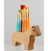 Alain Mailhot - Sculpteur Brush Holder - Horse