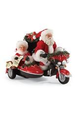 Père Noël en Harley avec la Mère Noël - Édition limitée