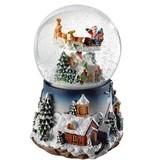 Globe Musicale Père Noël