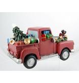 Santa Clause Christmas Musical Truck
