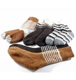Alpaga PM Double and reversible socks - Alpaca wool