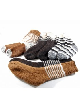 Alpaga PM Double and reversible socks - Alpaca wool