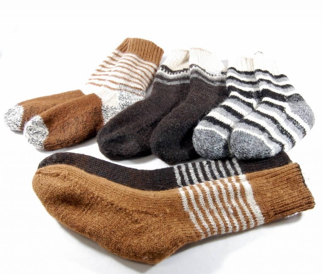 54eea24e3ae Alpaga PM Double and reversible socks - Alpaca wool